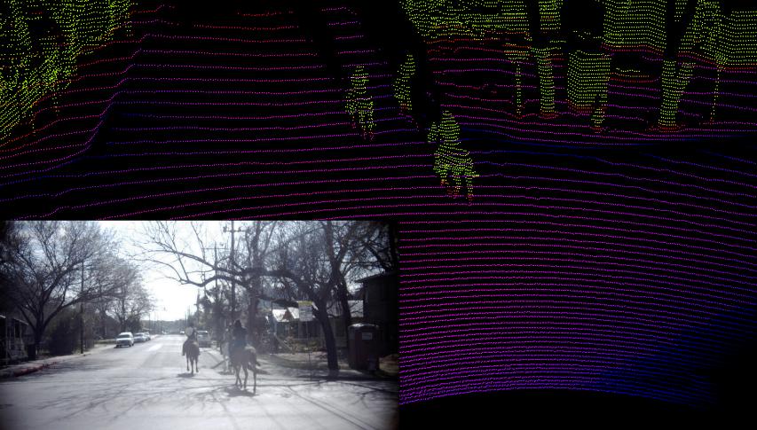 Reiter auf der Straße