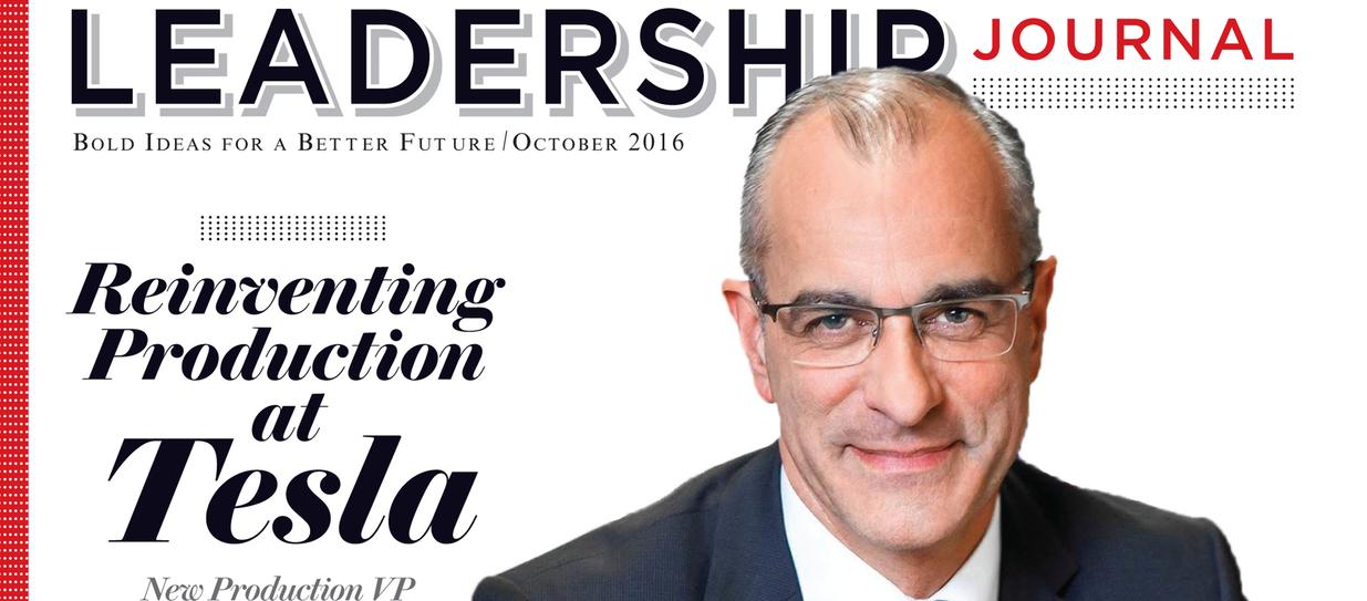 Manufacturing Leadership Titel Oktober 2016