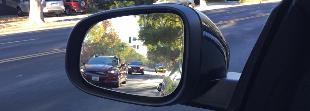 Unidentiziertes Fahrzeug mit Sensoren