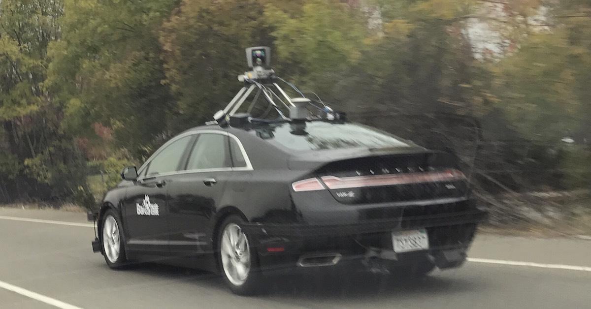 Autonomous Testfahrzeug von Baidu (C) Tracy Xu