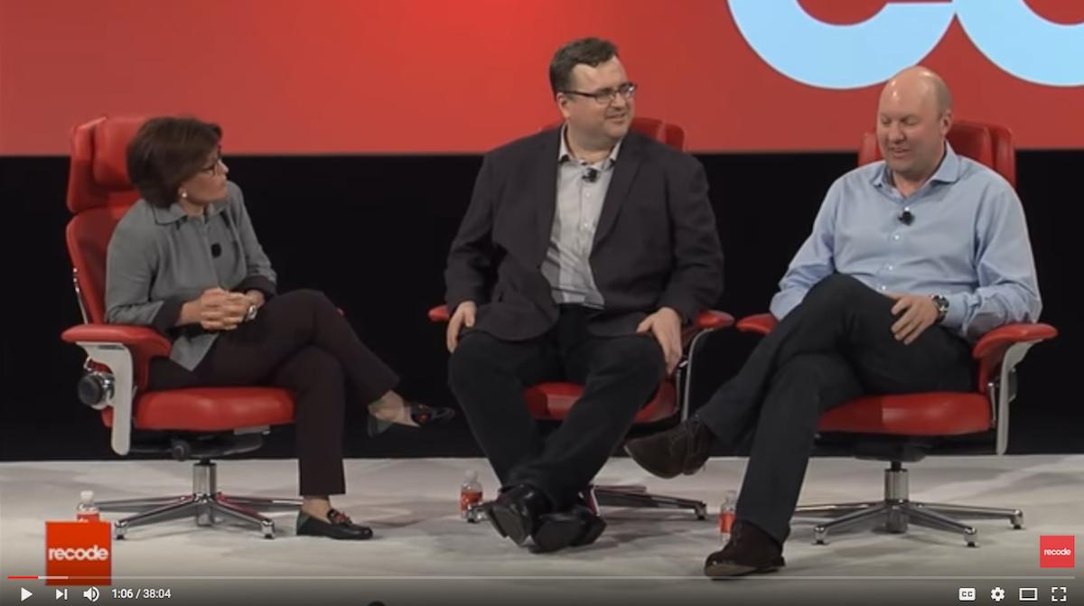 Marc Andreessen und Reid Hoffman