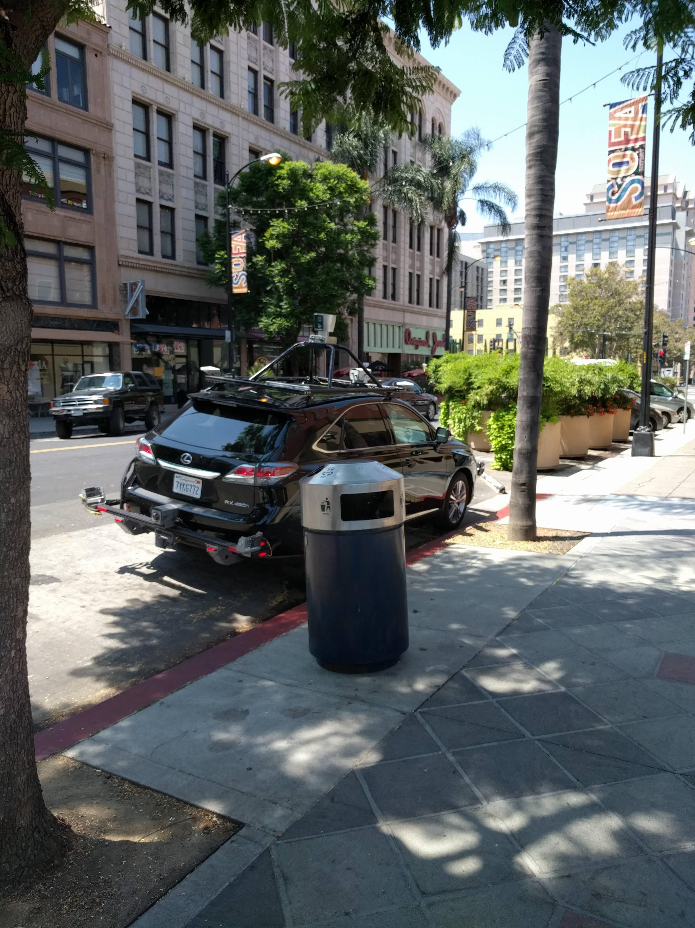 Apple Car in San José