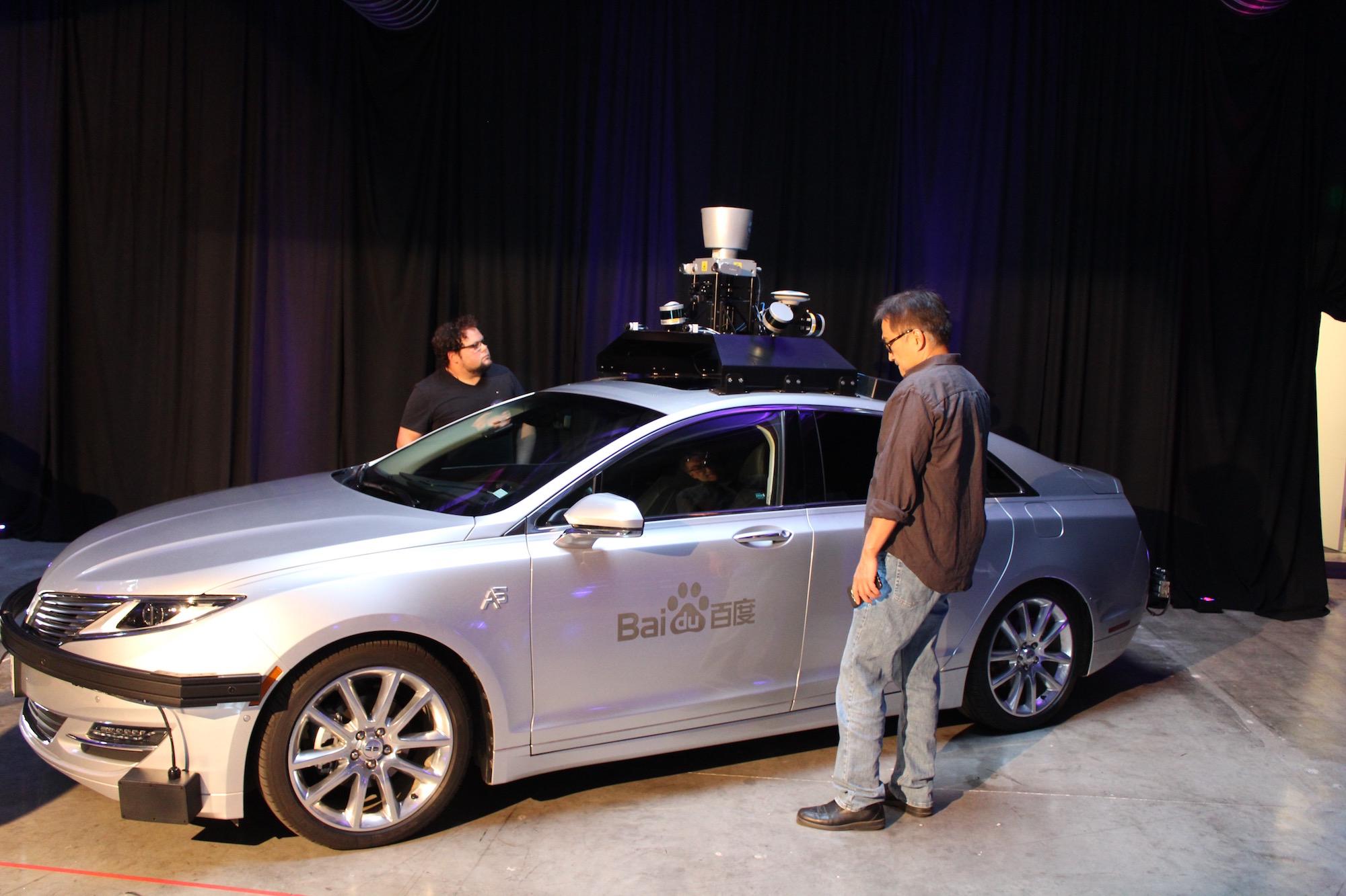 Baidu Open Source Self Driving Car