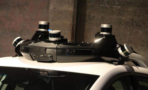 GM Cruise Lidar und Kameras