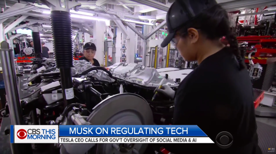 Model 3 Production Line 01